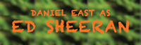 Daniel East (Tribute to Ed Sheeran)  logo
