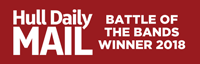 Hull Daily Mail Battle Of The Bands Winner logo