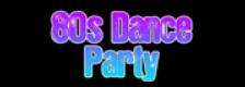 80s Dance Party logo