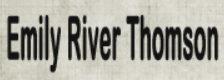 Emily River Thomson logo