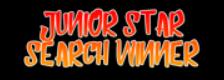 Junior Star Search Winner logo