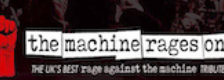 The Machine Rages On logo