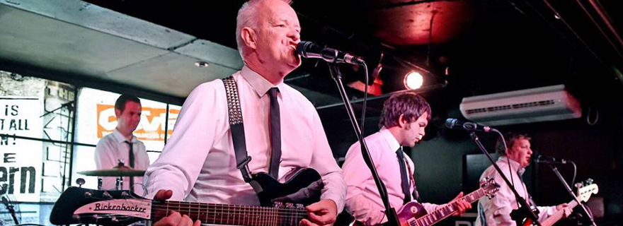 The Cavernites, a tribute band to The Beatles.