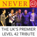 Never 42, a tribute band to Level 42