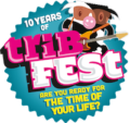 10 years of Tribfest logo
