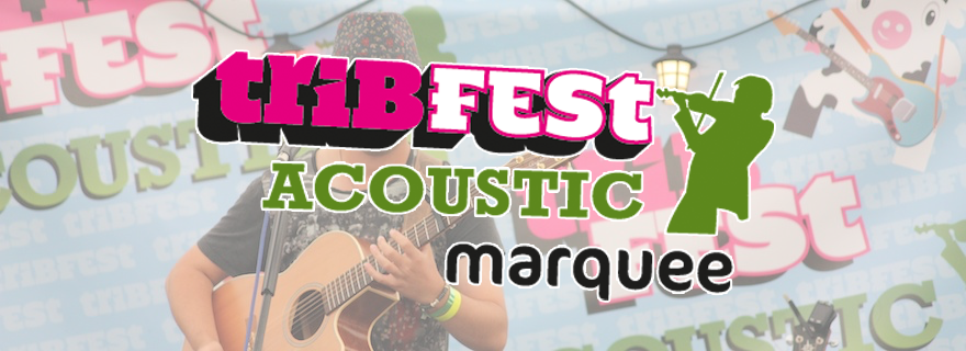 Acoustic Marquee Header