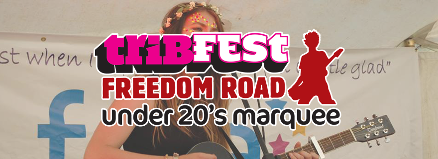 Freedom Road Under 20s Marquee Header