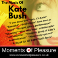 Moments of Pleasure (Tribute to Kate Bush)